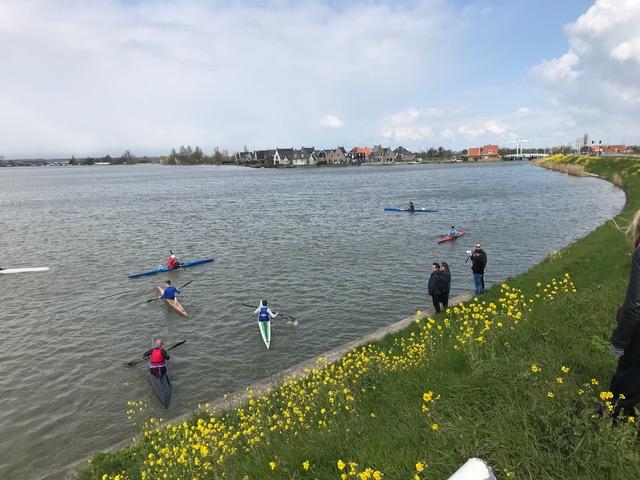 Lisa - race start at Monnickendam